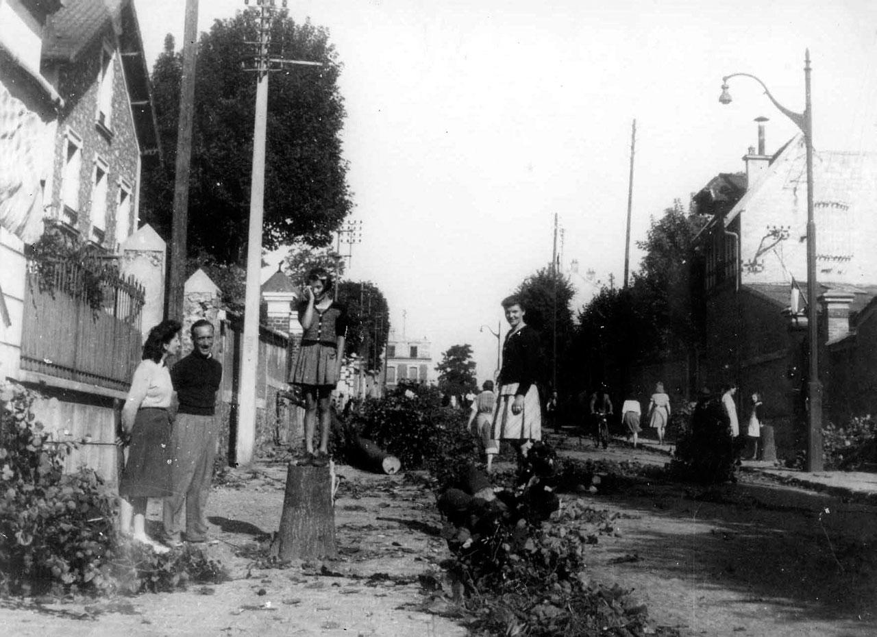 Libération de Clamart - Le jour d'après